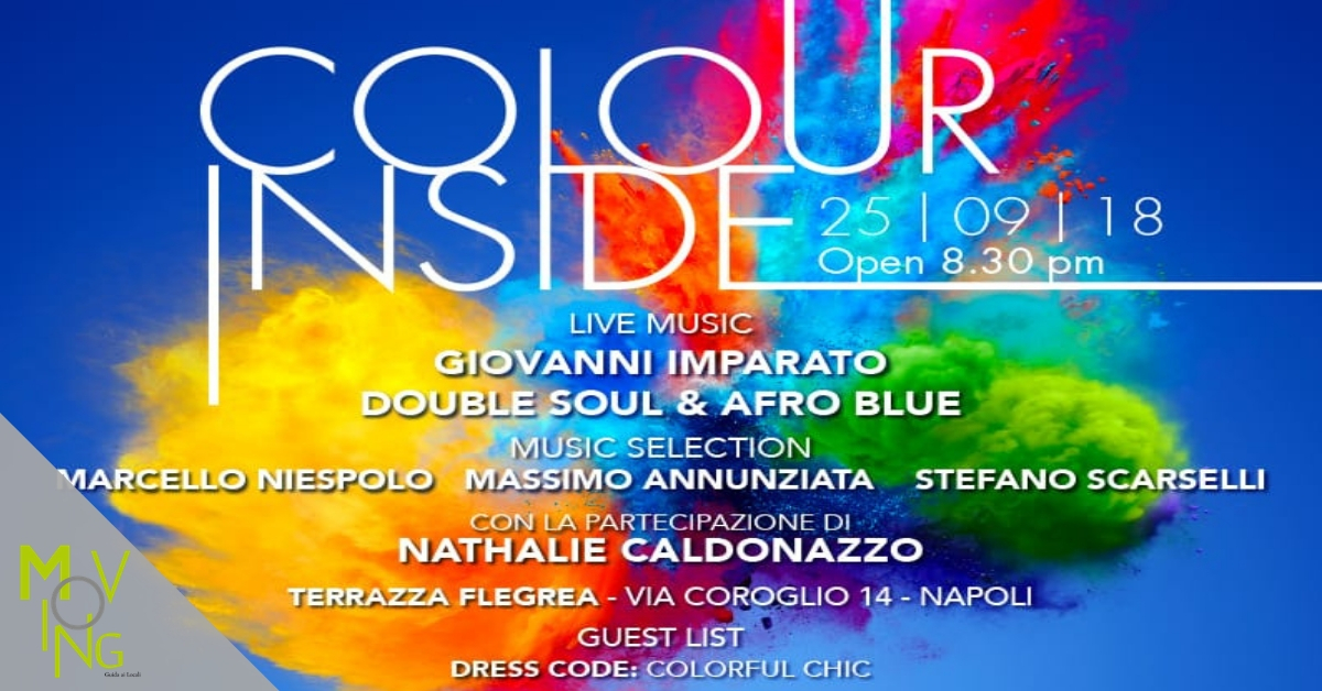 Colour Inside. Dalla musica all'enogastronomia